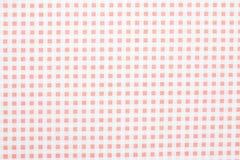 Fond de tissu de guingan Photographie stock