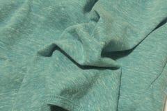 Fond de tissu de turquoise Images libres de droits