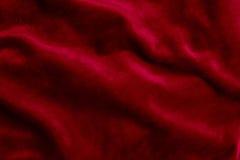 Fond de tissu de velor de Bourgogne Photos stock