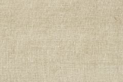 Fond de toile à sac ou de toile de jute avec la texture évidente Plan rapproché de toile à sac naturelle légère, toile, tissu, ju Images libres de droits