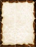 Fond de toile d'araignée Photos libres de droits