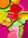 Fond de toile d'art de bruit Image libre de droits