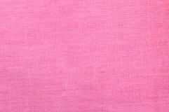 Fond de toile rose vide de tissu. Photographie stock