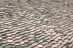 Fond de toit d'ardoise Images libres de droits
