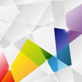 Fond de triangle Photo stock