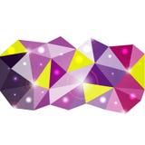 Fond de triangle. Image stock