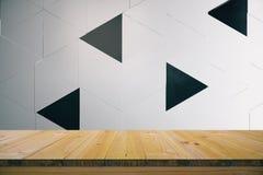Fond de triangle Photos libres de droits