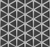 Fond de triangle en métal Photographie stock libre de droits