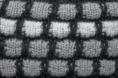 Fond de tricotage de texture de laine de fil coloré Image libre de droits
