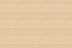 Fond de tricotage de tissu barré par coton beige Bagout sans joint Photographie stock libre de droits