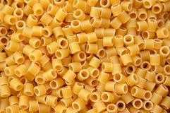Fond de tubes de pâtes Images libres de droits