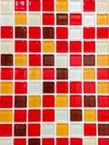 Fond de tuile de mosaïque Photos libres de droits