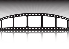 Fond de type de cinéma Photos stock