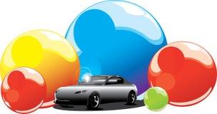 Fond de véhicule Images libres de droits
