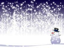 Fond de vacances d'hiver Photographie stock libre de droits