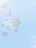 Fond de vacances d'hiver Photos libres de droits
