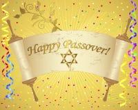 Fond de vacances de la pâque juive. illustration de vecteur