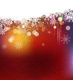 Fond de vacances de Noël Image libre de droits
