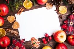 Fond de vacances de Noël Image stock