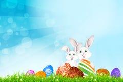 Fond de vacances de Pâques Photos libres de droits