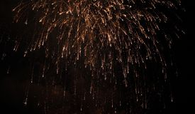 Fond de vacances de feu d'artifice photographie stock