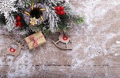 Fond de vacances de Noël photos libres de droits