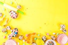 Fond de vacances de Pâques Images stock