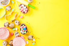Fond de vacances de Pâques Photographie stock libre de droits