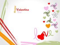 Fond de Valentine Photo libre de droits