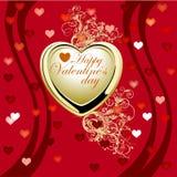 Fond de Valentine Photographie stock libre de droits