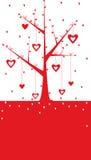 Fond de Valentine illustration libre de droits