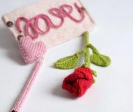 Fond de Valentine, coeur d'amour, jour de valentines, diy Image stock