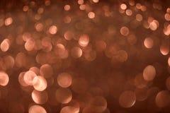 Fond de Valentine Day Brown Glitter de nouvelle année de Noël Tissu abstrait de texture de vacances Élément, éclair image stock