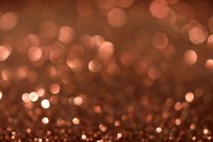 Fond de Valentine Day Brown Glitter de nouvelle année de Noël Tissu abstrait de texture de vacances Élément, éclair photo libre de droits