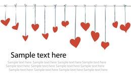 fond de valentine de jour Image libre de droits