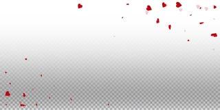 fond de valentine des coeurs 3d illustration de vecteur