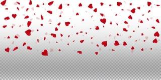 fond de valentine des coeurs 3d Photo libre de droits
