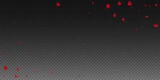 fond de valentine des coeurs 3d illustration stock