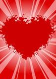 Fond de Valentines Photographie stock