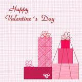 Fond de Valentines Image libre de droits