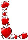 Fond de Valentines   Image stock