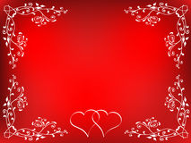 Fond de Valentines Photos stock