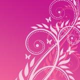 Fond de vecteur : abstraction florale Photos libres de droits