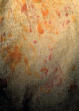 Fond de vecteur avec les filets noirs oranges lumineux Image libre de droits