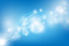 Fond de vecteur avec les lignes onduleuses Images libres de droits