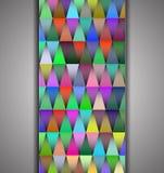 Fond de vecteur avec les lumières colorées Photo stock