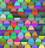 Fond de vecteur avec les lumières colorées Photo libre de droits