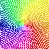 Fond de vecteur avec les mosaïques colorées de lumières Photo libre de droits