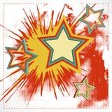 Fond de vecteur d'étoile d'explosion. Photographie stock