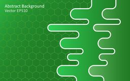 Fond de vecteur d'abrégé sur vert vert Photo stock